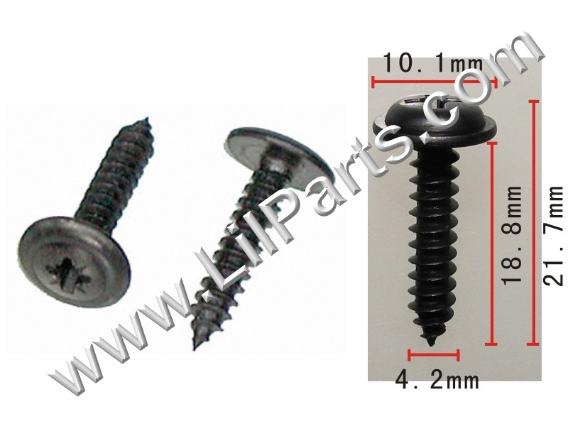 4.2-1.41 X 20mm Phillips Washer Head Screw GM PN 11501884 Aeveco 12060 PN:[H2041]
