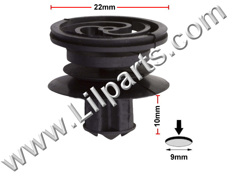 Compatible with Volkswagen # 3B0-868-243 Beetle, Golf, Jetta & Passat 1998 - On  PN:[C905] Auveco 20341
