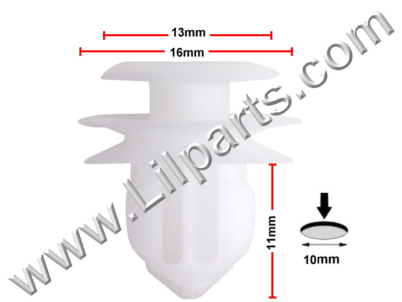 Compatible with Lexus & Toyota: 62217-13010 Lexus and Toyota Corolla, Matrix & 4 Runner 2003 - On PN:[10-255] Auveco 20558
