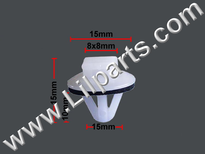 Compatible with Toyota: 62955-20020, 62955-12010 Pick-Up Truck, GM: 94848834 Pontiac Vibe PN:[10-166] Auveco 15695