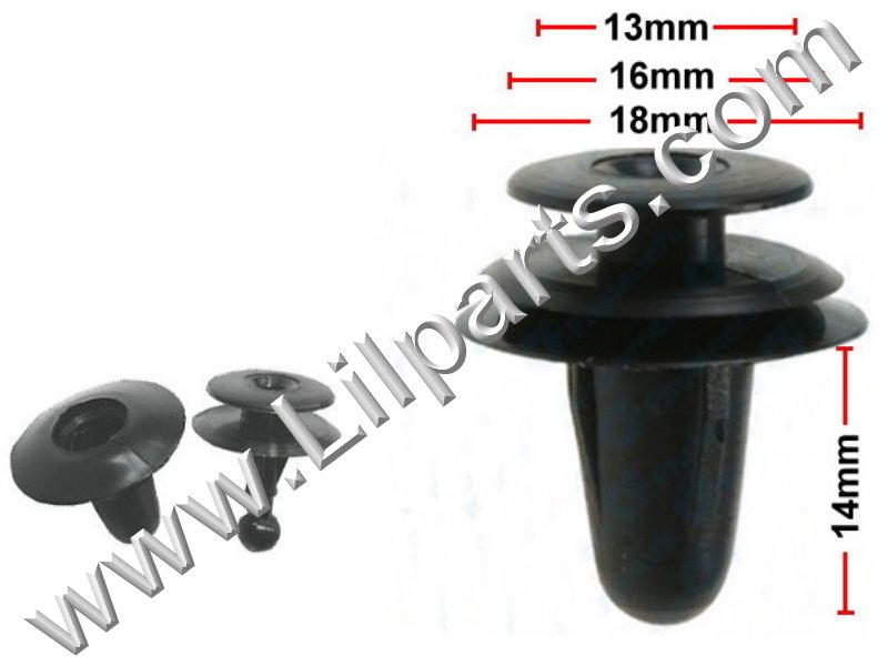 Compatible with Isuzu: 8942264920 Mazda: 9927-40-825 Toyota: 67771-01010,67771-12010, Auveco 14144, Auveco 14269, PN:[10-165]