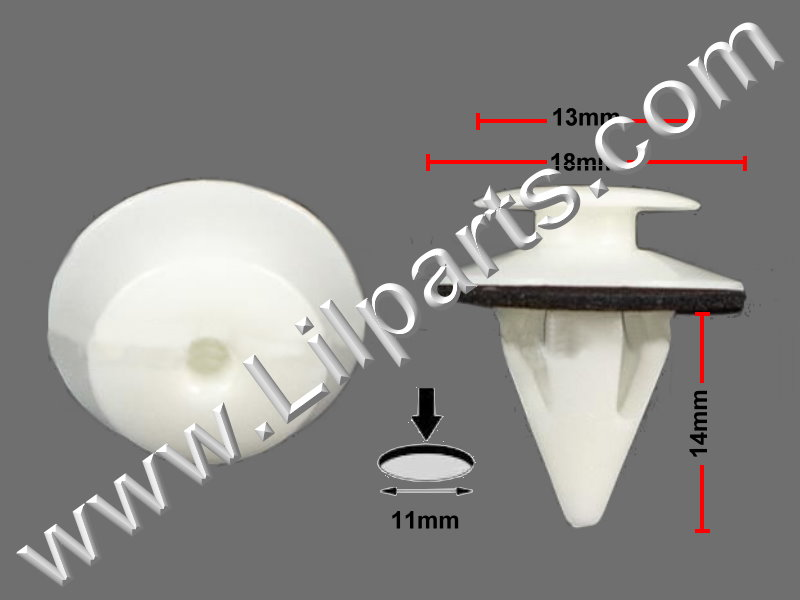 Compatible with Lexus & Toyota: 67771-12070 Lexus SC300/400 Toyota Avalon & Corolla 1992 - On PN:[10-278] Auveco 20473