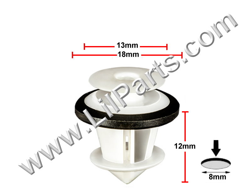 Compatible with Toyota: 67773-0E020, Lexus RX350 2009 and Toyota Camry 2012 - PN:[11-821]