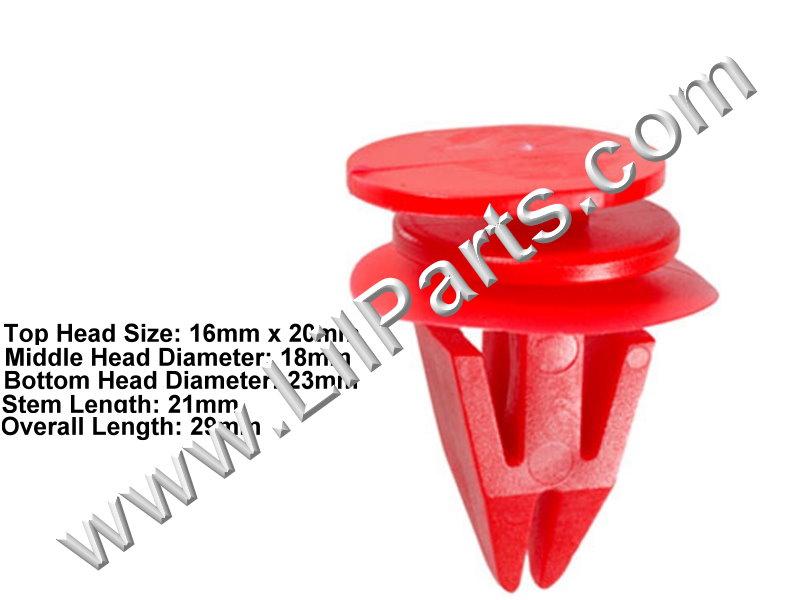 Compatible with Mini-Cooper: 51-71-7-127-742 R58, R59 & S 2009 - C1561 Auveco 21716