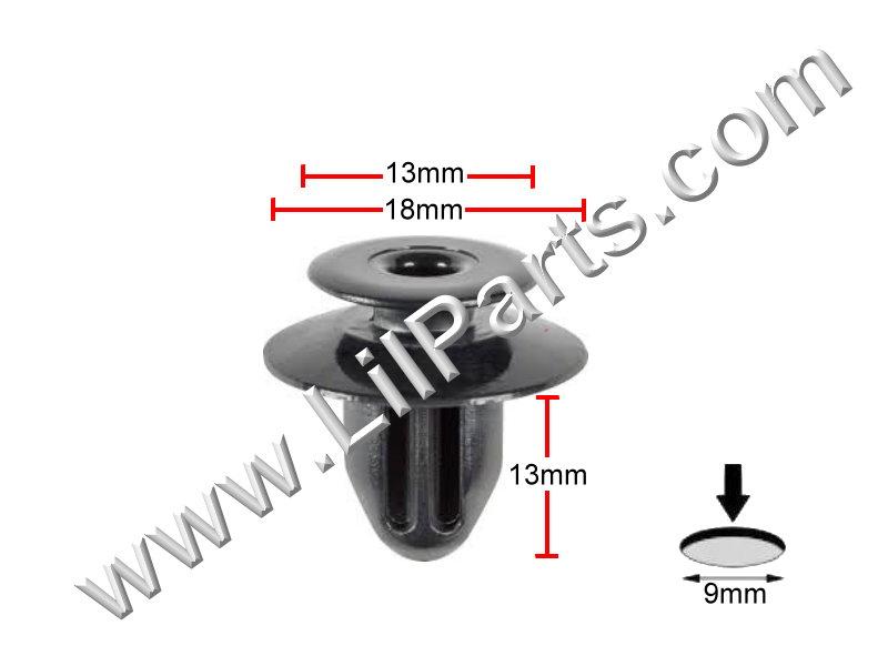 Compatible with Toyota: 75867-33030 Toyota Avalon, Camry, Prius, Scion, Sienna, Solara & Venza 2000 - On N/A Auveco 21538,Auveco 21012,Auveco 21226