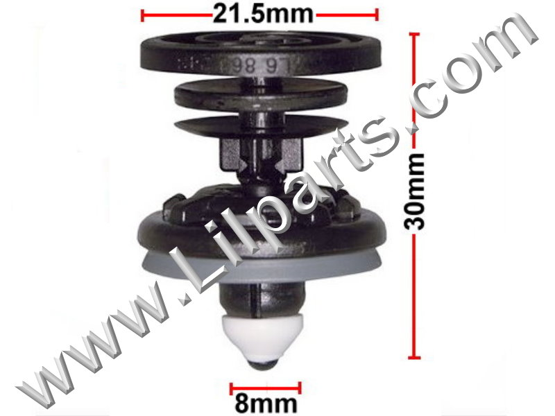Compatible with BMW: 51-11-8-174-185 Series 3, 5 & 7 1995 - On PN:[11-249] Auveco 21708