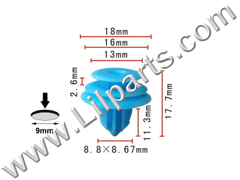Compatible with GM: 88970345, Toyota: 90467-10167 Pontiac Vibe, Lexus and Toyota 2000 - On PN:[10-256] Auveco 20559