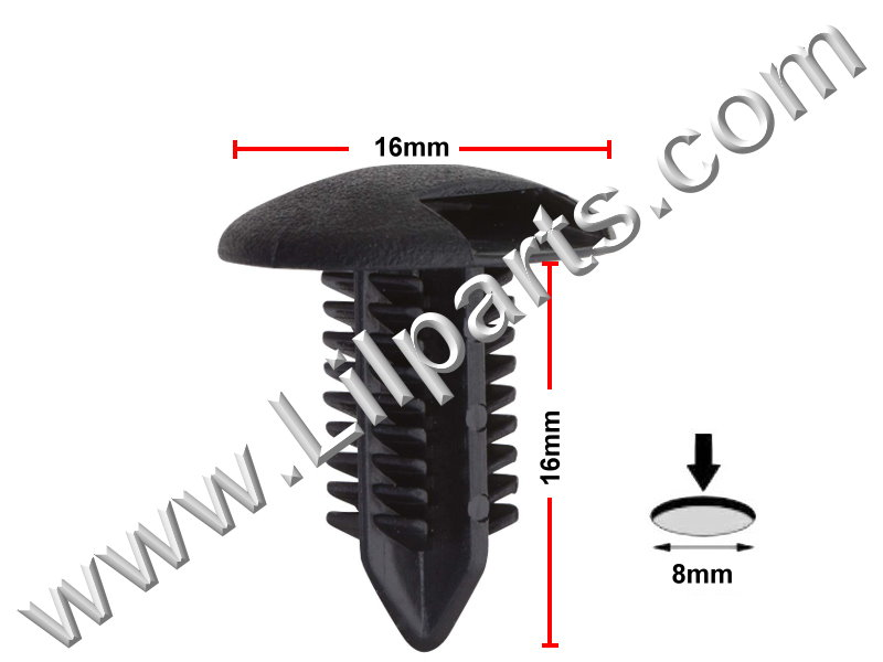 Compatible with Toyota: 90467-08186 Camry 1999 - On PN:[10-834] Auveco 20184