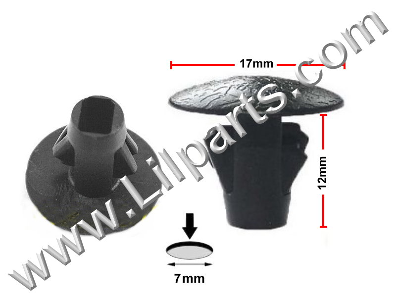 Compatible with Toyota: 90467-10107 2WD & 4WD Truck 1988-On PN:[10-218] Auveco 19123