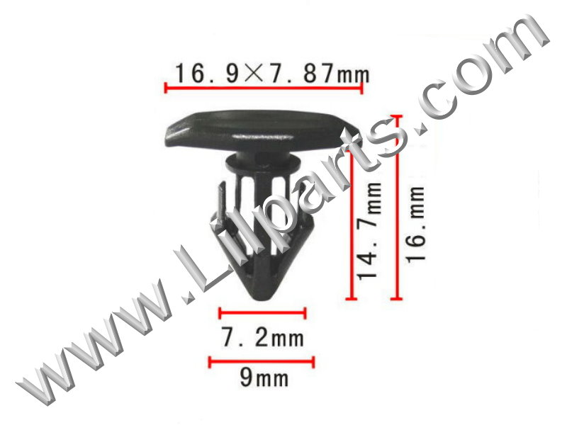 Compatible with Toyota: 90467-10146 Sienna Van 1997 - On PN:[10-254] Auveco 19728