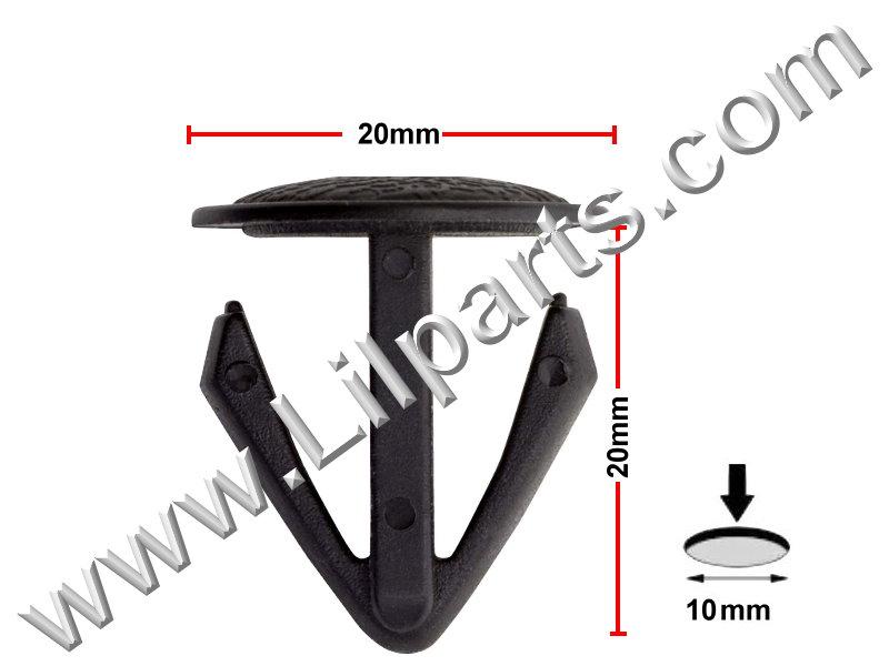 Compatible with Honda: 90687-671-0030 PN:[10-087] Auveco 14319