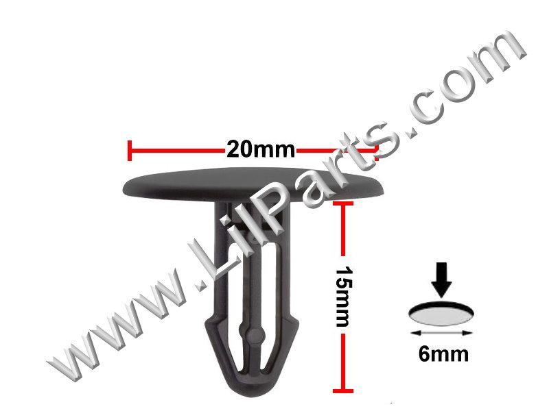 Compatible with Honda & Acura: 91501-SEA-003 Civic 2006 - On CRV 2007-08 , RDX 2007-08 PN:[11-394] Auveco 20882