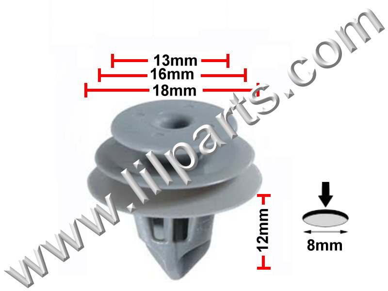 Compatible with Honda & Acura: 91560-SLJ-J01 Civic, CR-V & Pilot, Acura RDX 2009 - On PN:[11-402] Auveco 21208