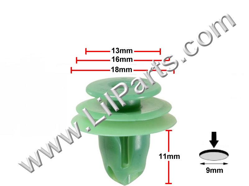 Compatible with Honda: 91560-SZW PN:[11-862] Aeveco 21675