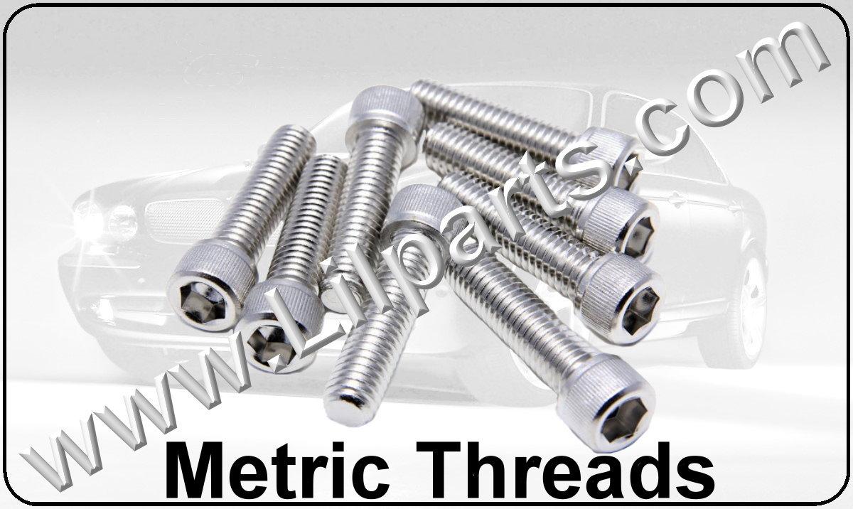 Stainless Steel Metric Hex Cap Screws Automotive Fender Body Door Panel Fastener Retainer