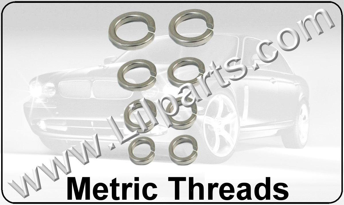 Stainless Steel Metric Lock Nuts