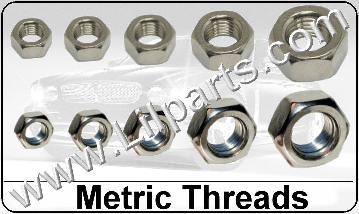 Stainless Steel Metric Hex Nuts