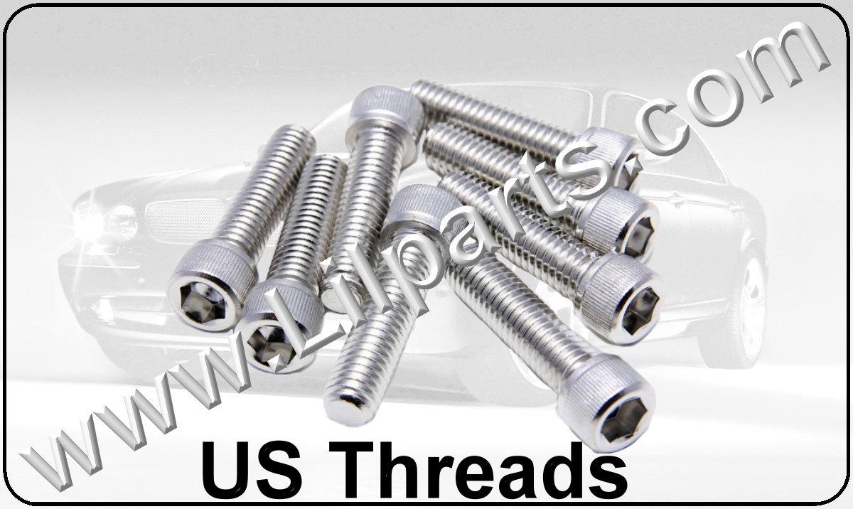 Stainless Steel US Hex Cap Screws Automotive Fender Body Door Panel Fastener Retainer