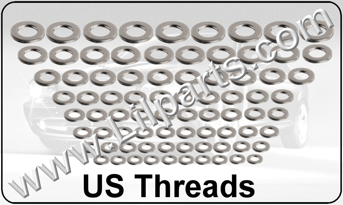Stainless Steel US Flat Washers