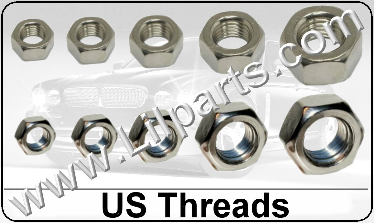Stainless Steel US Hex Nuts