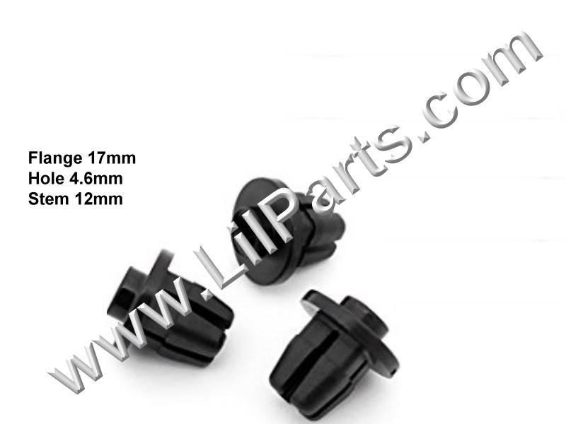 Compatible with Scion TOYOTA OEM 12-15 iQ Rear Bumper-Guard Fastener 9018905144 PN:[11-826]