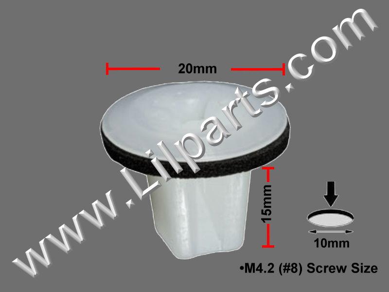 Compatible with Mazda: GJ6A-58-975, Mazda RX-8 2010 - 04 Auveco 21743,1AUTO 11-665 N/A