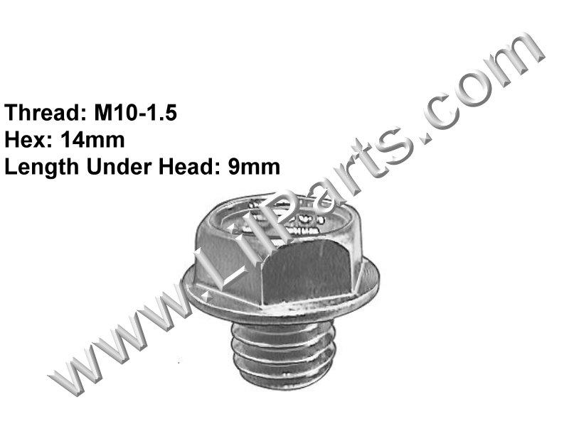 Compatible with Jeep: 83504041 Cherokee, Comanche & XJ 1991- Lexus: 90341- 10006 GS300, LS400 & SC400 1991- H2141 Auveco 19318