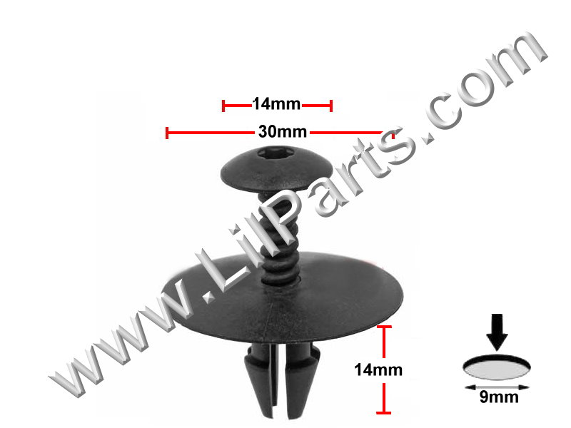 Compatible with Mercedes Benz 001-990-01-92 PN:[11-822]