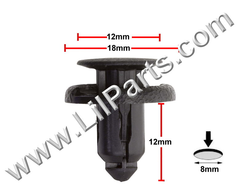 Compatible with Nissan: 01553-09611 Maxima 1994 - On PN:[10-085] Auveco 20349
