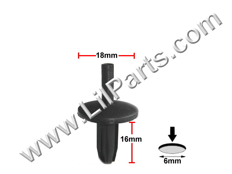 Compatible with GM: 472434 1970- , Chrysler: 6031390 1968- Auveco 11699
