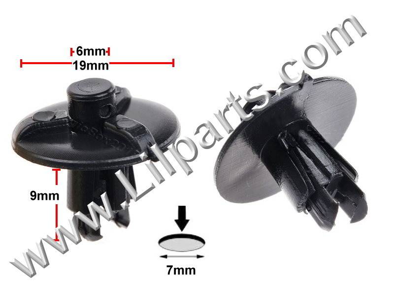 Compatible with Lexus: 53259-0E010 Lexus EX 350, IS 250, IS 350, RX 330, RX350 and RX 400H 2012 - 04 PN:[11-399] Auveco 21525