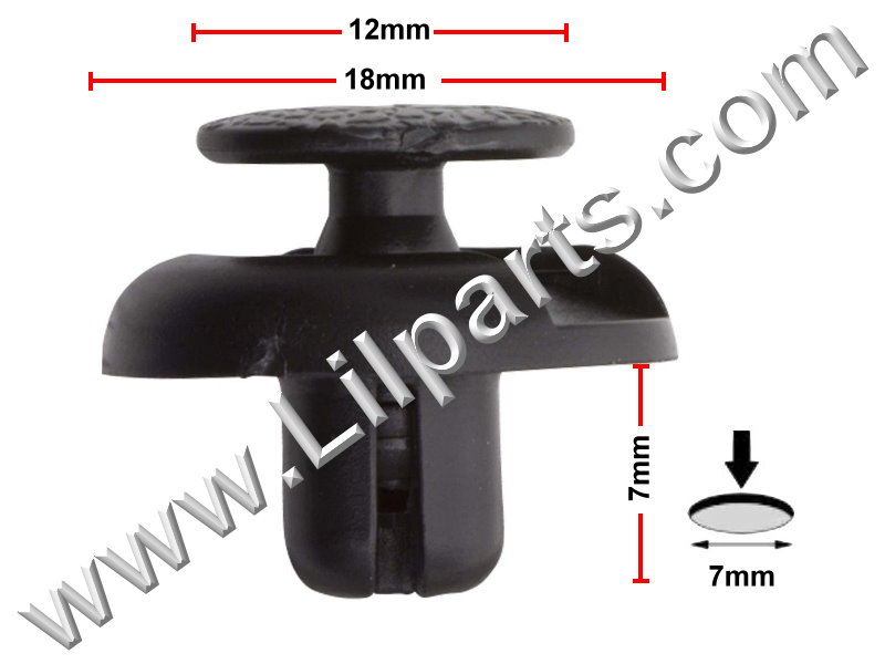 Compatible with Toyota: 53879-60010 RAV 4 2000 - On PN:[10-337] Auveco 20335