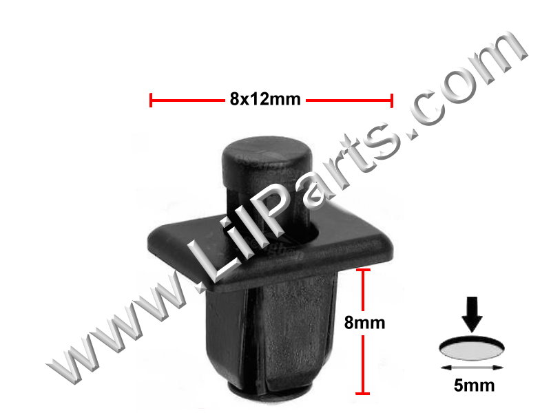 Compatible with Nissan: 66814-01G00 Pick-Up 1986- Auveco 16725