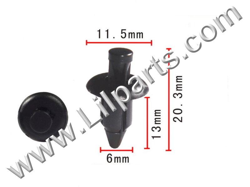 Compatible with Nissan: 66824-01G00 PN:[10-085] Auveco 16783