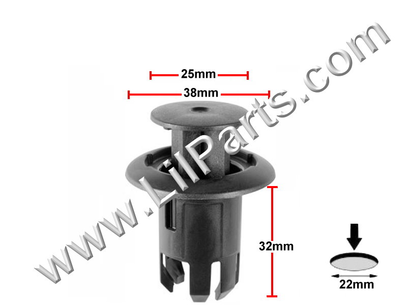 Compatible with Lexus: HS 250h & CT 200h, Toyota 76923-47010: Prius 2010 -  PN:[11-849]