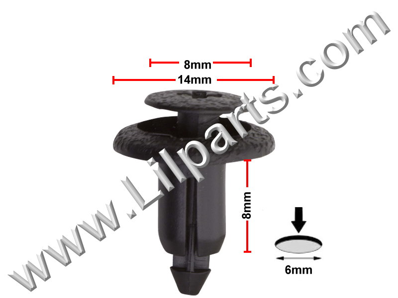 Compatible with Toyota: 90467-06133-CO 4-Runner 1998 - On PN:[10-376] Auveco 20196