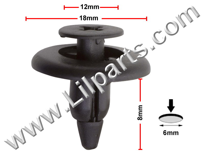 Compatible with Toyota: 90467-06150 Tacoma 1995 - On PN:[10-824] Auveco 19490