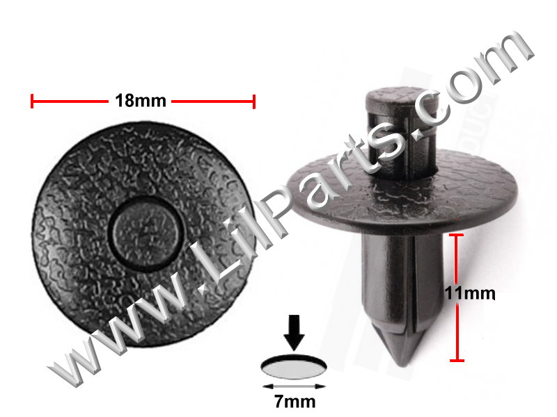 Compatible with Nissan: 80999-05N07, Toyota: 90467-07043 PN:[10-189] Auveco 16784
