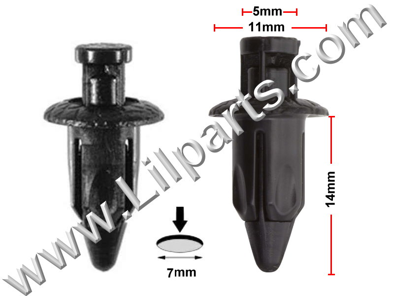 Compatible with Toyota: 90467-07071-22 Yaris 2009 - On N/A Auveco 21249