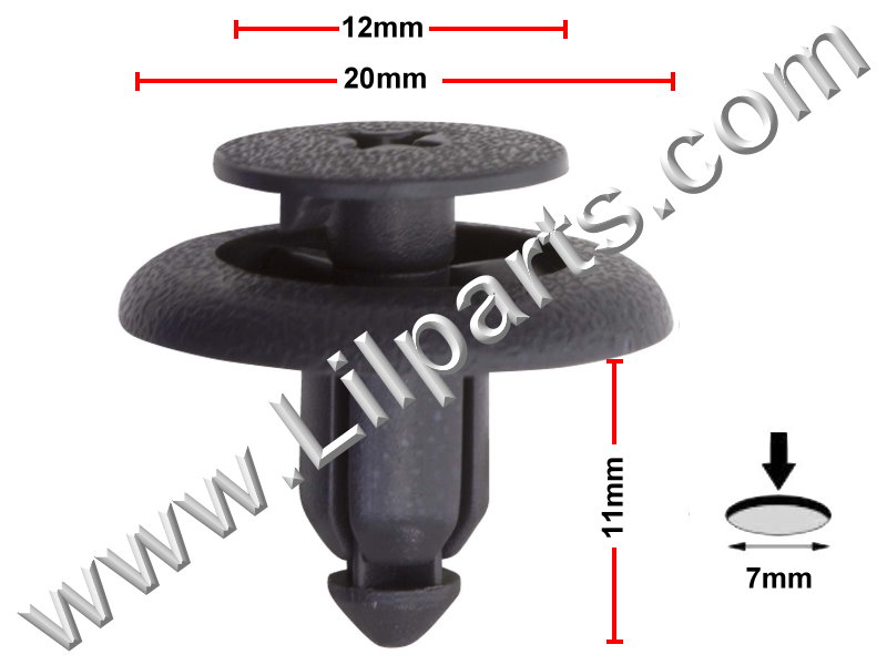 Compatible with Toyota: 90467-07121-B2 RAV4 1997 - On PN:[10-276] Auveco 19907