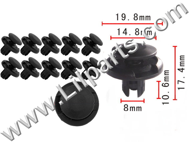 Compatible with Toyota: 90467-07164 Camry, Echo, MR2 & Sienna 1997 - On PN:[10-083] Auveco 20908,Auveco 19239,