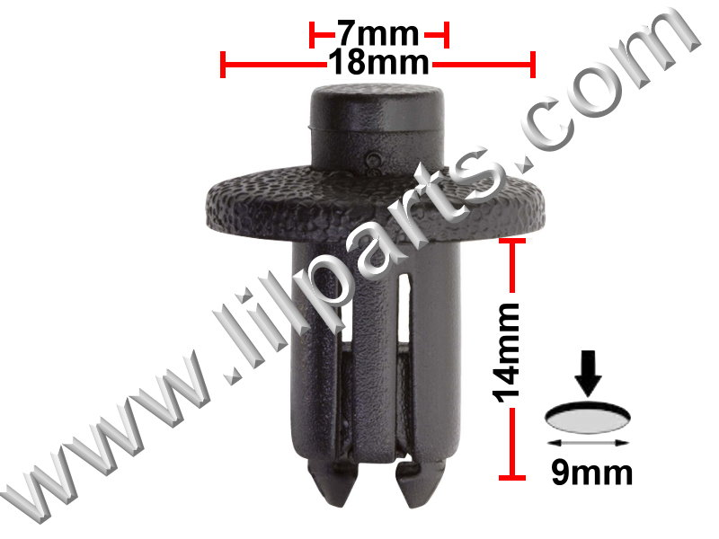 Compatible with Honda & Toyota: 90467-09139 Corolla 1992-On, Honda & Mazda 626 PN:[10-641] Auveco 19416