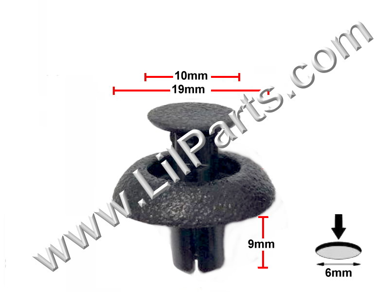 Compatible with LEXUS OEM FACTORY ENGINE COVER CLIPS X5 2010-2015 RX350 RX450H PN:[11-851]