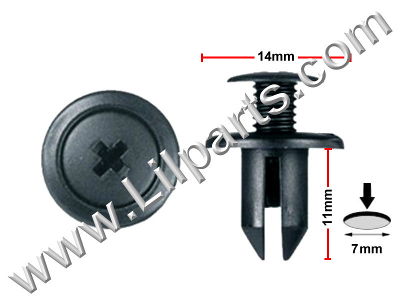 Compatible with: GM: 94198687 , Honda: 90657-SA6-0030 , Mazda: N304-13-356-A PN:[10-175] Auveco 14697