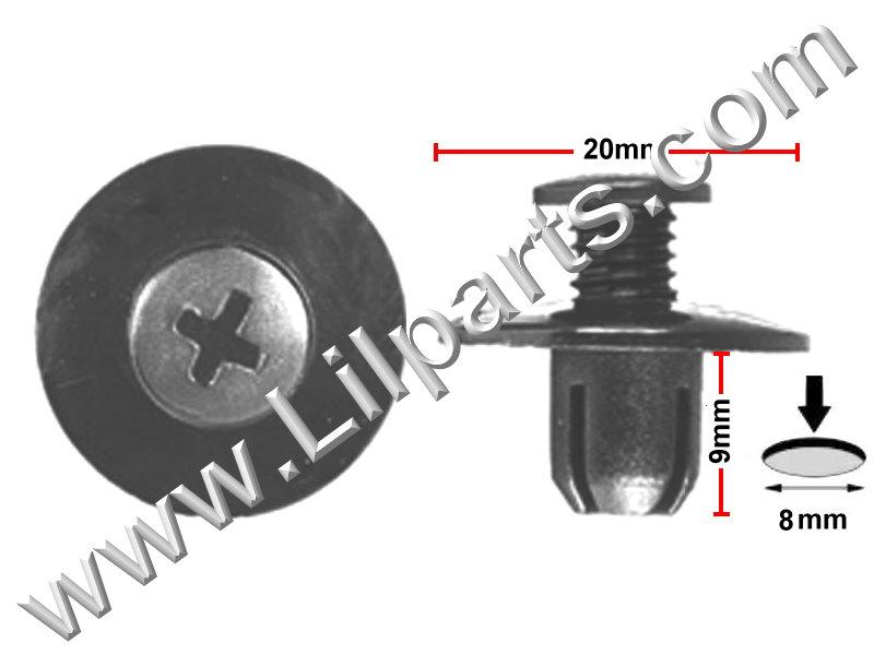 Compatible with: Honda: 90675-SB3-003, Mazda: FB01-56-964, Nissan: 63876-95596 PN:[10-045] Auveco 16000