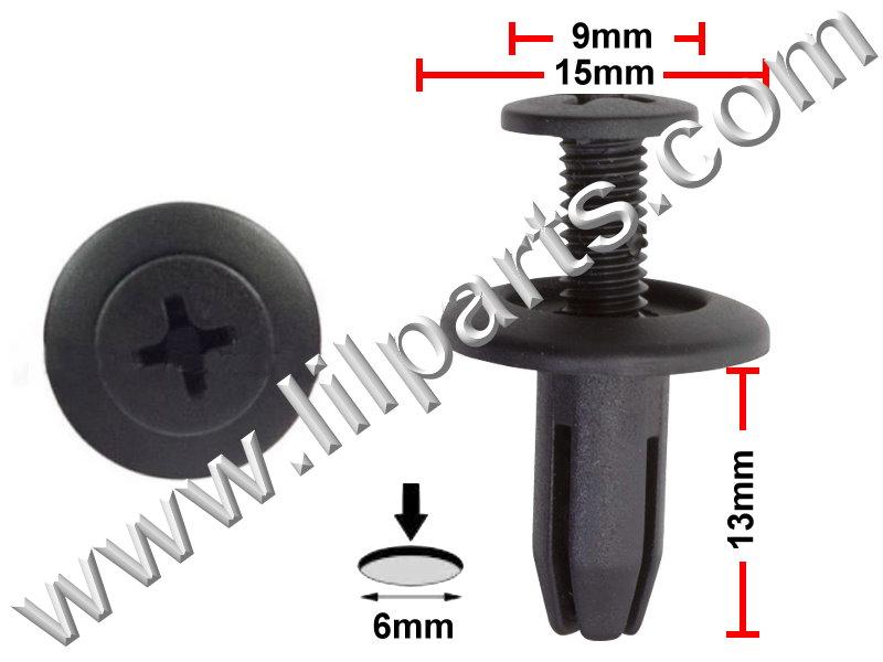 Compatible with Honda: 90683-SA5-003 Prelude 1996-92 PN:[10-091] Auveco 19311