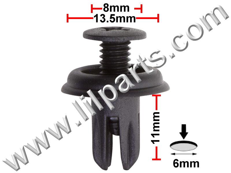Compatible with Honda: 90687-SB0-003,90687-SB0-013 Prelude 1983-On PN:[10-148] Auveco 17287