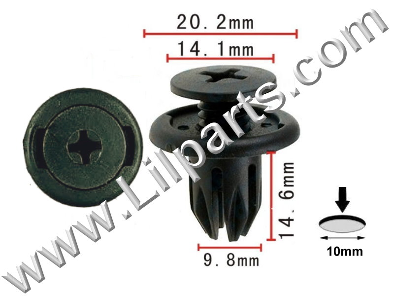 Compatible with Acura: 91503-SP0-003 Legend 1991-On PN:[10-570] Auveco 17267