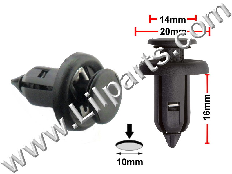Compatible with Honda: 91506-S9A-003 Accord, Civic CR-V & Fit and Acura MDX, RDX & TSX 2004 - 09 PN:[11-119] Auveco 21173