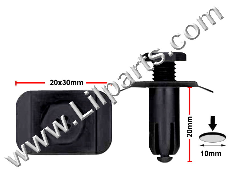 Compatible with Ford: E92Z-17C756C Probe, Mazda: GJ21-50-034 MX6 1989-On PN:[10-554]